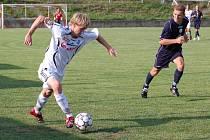 Po historickém úspěchu se Sigmou zvládli koničtí fotbalisté i divizní zápas v Rájci- Jestřebí.