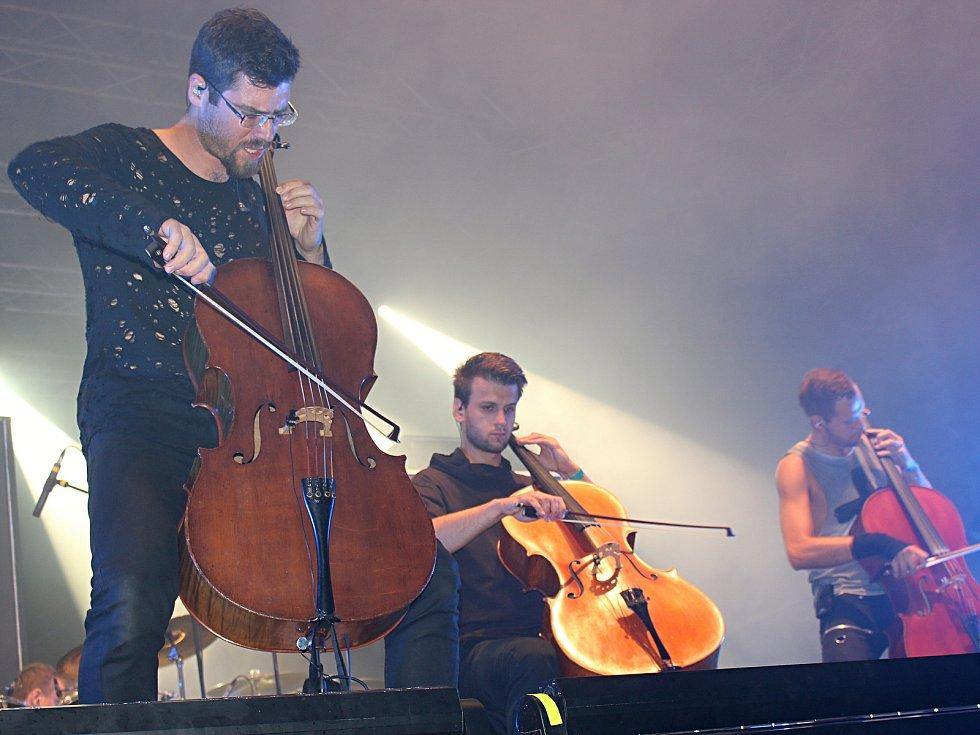 Exkluzivní koncert české kapely Mandrage se konal ve čtvrtek 6. září na nádvoří Staré střelnice v Hranicích. Jako předkapela vystoupila  přerovská skupina Arrhythmia.