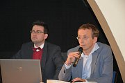 Zástupci města Hranic vedli informační přednášku o Severovýchodním obchvatu.