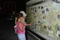 Interaktivní tabule na Masarykově náměstí je nyní mimo provoz