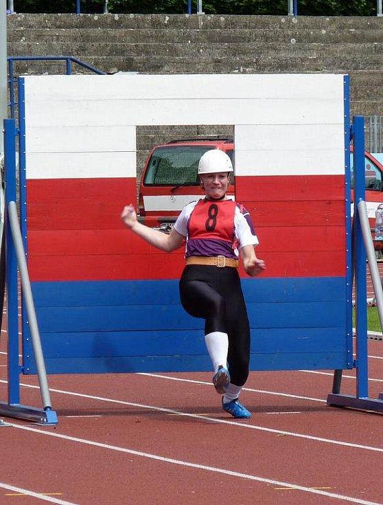 Na Mistrovství České republiky v hasičském sportu závodili i dva reprezentanti přerovského okresu – Jaromír Novák a Hana Kostruchová
