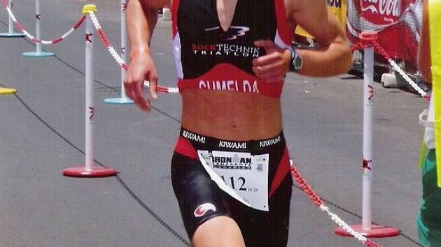 Lipnický triatlet Jakub Chmelíček.