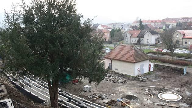 Rekonstrukce zámecké zahrady v Hranicích