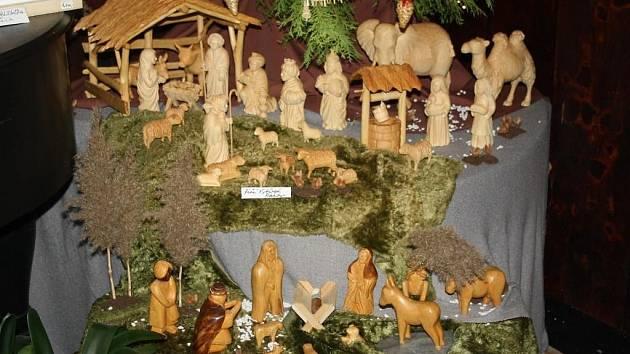 Výstava betlémů v Galerii M+M opět navodí vánoční atmosféru.