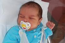 Samuel Haluška, Lipník nad Bečvou, narozen 14. června 2010 v Přerově, míra 50 cm, váha 3 670 g