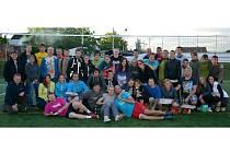 Účastníci víkendového sportovního klání v Hustopečích.
