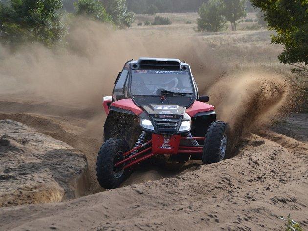 Dušan Randýsek se chystá na svůj první Dakar na bugině Arctic Wild Cat