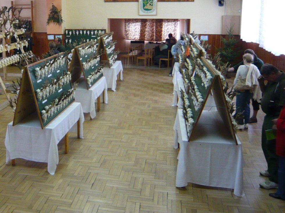 Myslivecké trofeje se představily veřejnosti o víkendu na dvoudenní výstavě ve Skaličce.