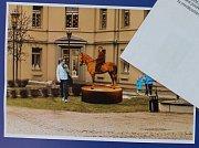 č.7. Autor: Zuzana Kantová. Návrh památníku TGM v Hranicích