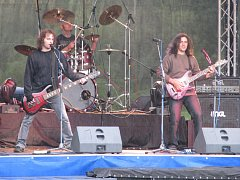 Celou sobotní akci zahajovala česká skupina s názvem The Pant.