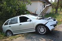 Nehoda u Horního Újezdu