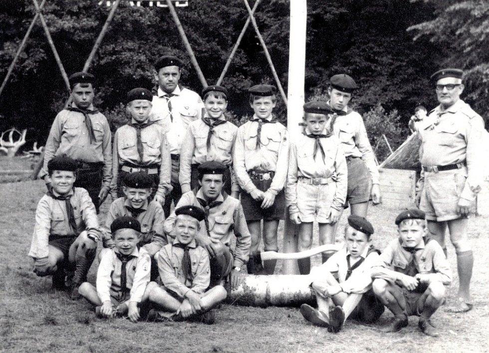 Na jaře roku 1946 byl ve Všechovicích založen skautský oddíl Junák.