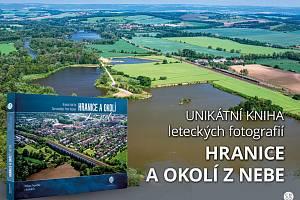 Ukázka z připravované knihy Hranice a okolí z nebe, která vyjde na podzim 2021.