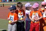 Atletické přebory dětí z mateřských škol v Hranicích