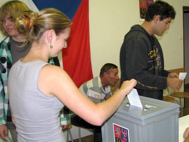 Studentské volby 2012 v Hranicích