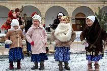Vánoce na zámku v Hustopečích nad Bečvou