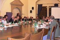 Zasedání zastupitelstva v Hranicích