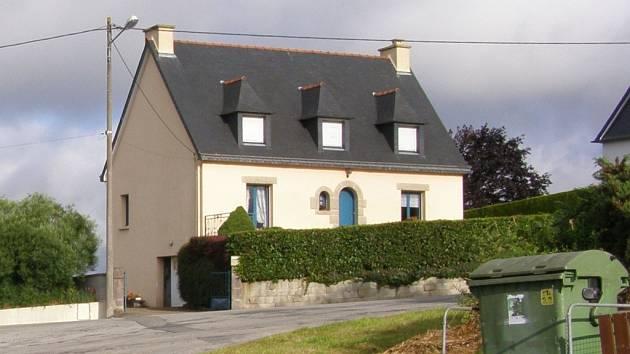 Dům v Bretani.