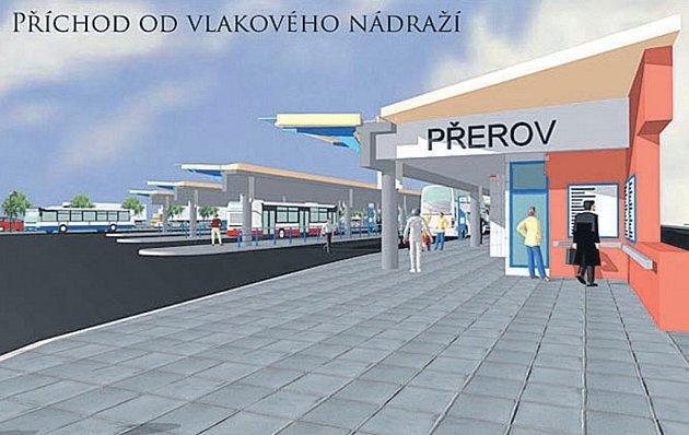 Oprava autobusového nádraží přijde na 135milionů korun a spracemi se začne vdubnu.