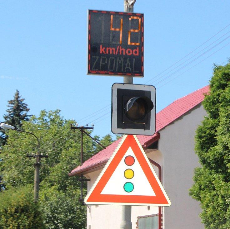 V Hranicích budou měřit rychlost nové radary