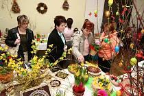 Opatovice, Všechovice, Malhotice, Rouské (na snímku), Horní Újezd a Skalička, ve všech těchto obcích se o víkendu konaly velikonoční výstavy.
