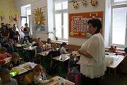 První školní den na ZŠ Šromotovo v Hranicích