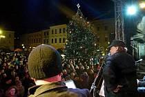Rozsvěcení vánočního stromu v Hranicích