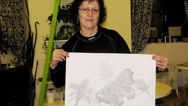 Hranická ilustrátorka Jana Klvaňová vyplnila svými kresbami i knihu pro děti.