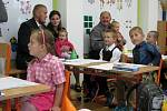 První školní den v Bělotíně