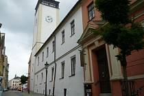 Městské muzeum a galerie: Stará radnice v Hranicích.