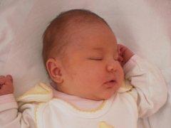 Karolínka Nožičková, Stará Ves, narozena dne 1. března 2013 v Přerově, míra: 51 cm, váha: 3 970 g