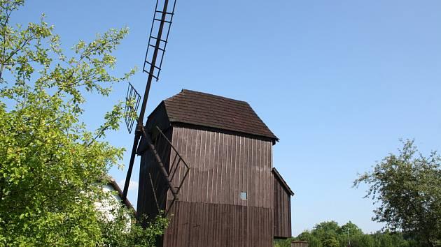 Červekův větrný mlýn ve Skaličce