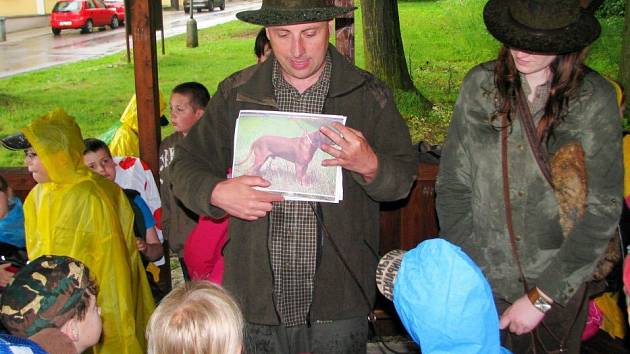 Den lesa ve Školním polesí Valšovice