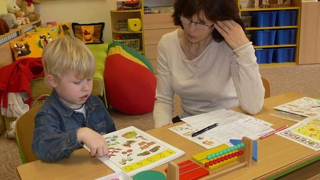 Zápis do prvních tříd na Základní škole 1. máje v Hranicích.