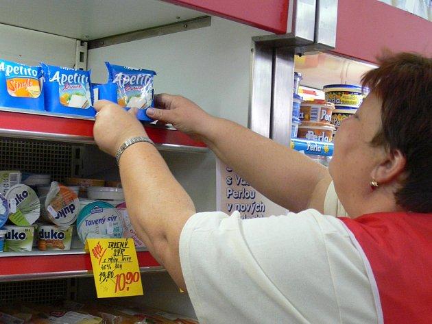 Ceny mléčných výrobků rapidně stoupají.