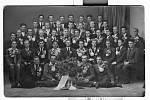 Odvod několika ročníků konaný v roce 1945 v Ústí