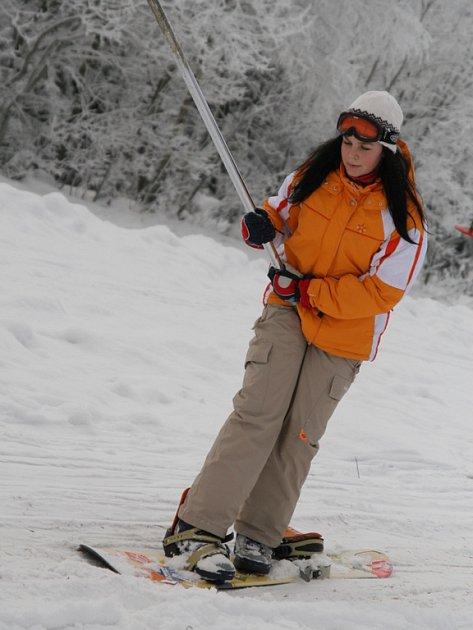 Celý týden se lyžuje v javornickém středisku Kohůtka – Portáš.