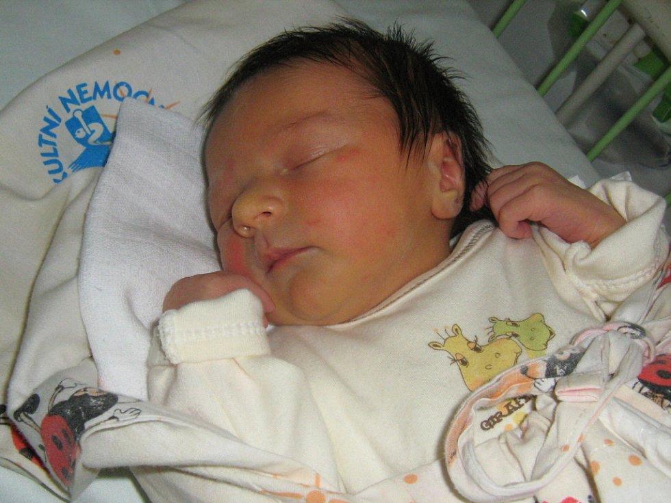 Kateřina Jandová, Výkleky, dcera Rozálie Jandová, narozena 21. července v Olomouci, míra 49 cm, váha 2980 g