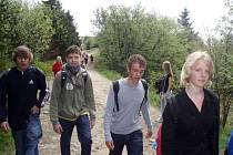 Studenti se společně vydali na Pustevny a na Radhošť.