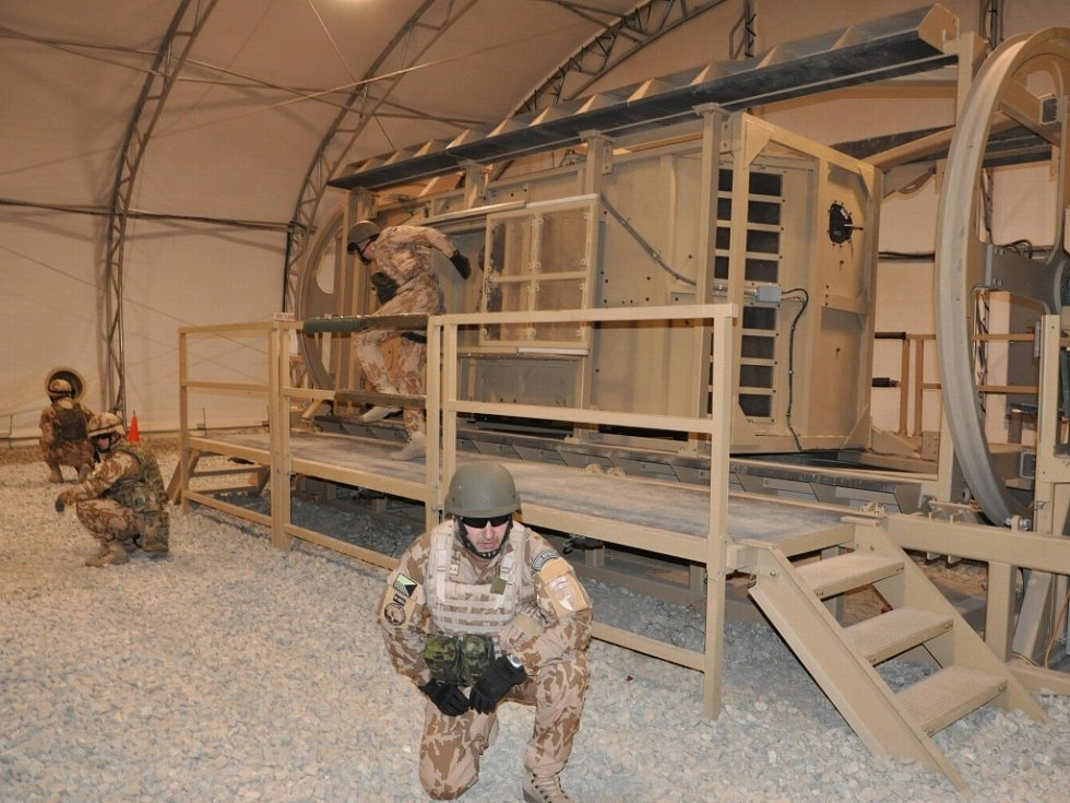 Hraničtí vojáci v Afghánistánu plní své úkoly