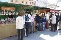 Farmářské trhy na náměstí TGM v Hranicích