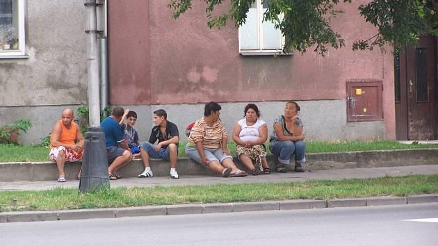 Škodova ulice v Přerově.