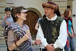 Historický průvod s králem Janem Lucemburským
