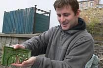 Přerovský archeolog Zdeněk Schenk se podílí na archeologických objevech v přerovském regionu.