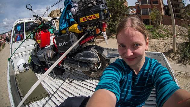 Dominika na cestě Jižní Amerikou.