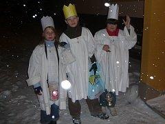 Tři králové chodili již o víkendu v hranických ulicích.