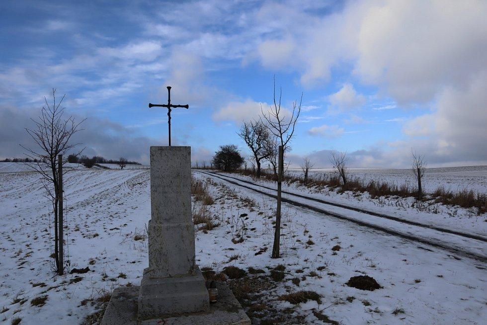 Kříž na Milovanské