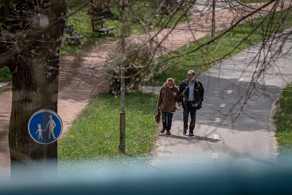 Lázně Teplice nad Bečvou, 24. dubna 2021.