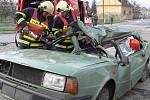 Cvičení složek Integrovaného záchranného systému proběhlo na Šromotově náměstí.