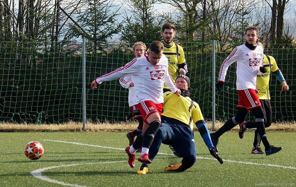 Fotbalisté Tatranu Všechovice padli v přípravě ve Valašském Meziříčí.
